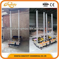 Concrete/stucco/cement wall plastering machine