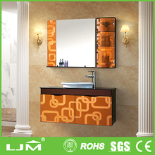 attractive artistic anti fog polished edge laminated mirrors