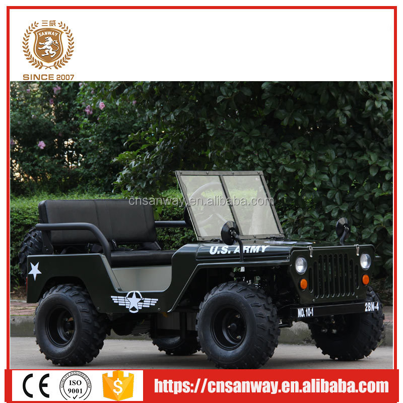 1200W 60V 34AH electric mini willys jeep made in China