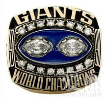 cheap giants world championship O ring with beautiful CZ stone for sport player
