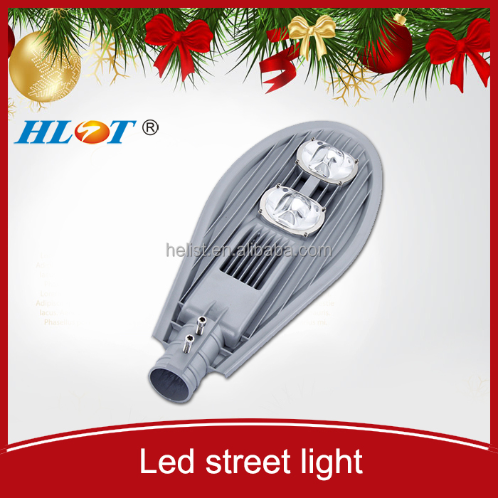 New Christmas COB IP67 soalr aluminum led street light 100W