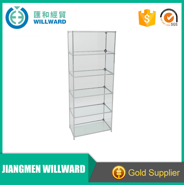 100% true capacity zinc alloy with chrome finished office book cabinet