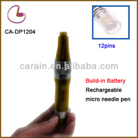 2014 professional products Build-in Battery Rechargeble home use Micro needle derma skin pen