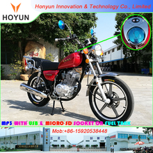 2017 NEW DESIGN With MP3 on Fuel Tank HOYUN GN GN49 GN125 SL125-5 motorcycles