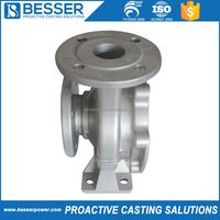Boat engine or train engine stir pump casting