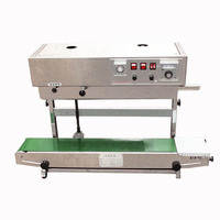 Vertical Continuous Band Sealer Plastic Bag Sealer