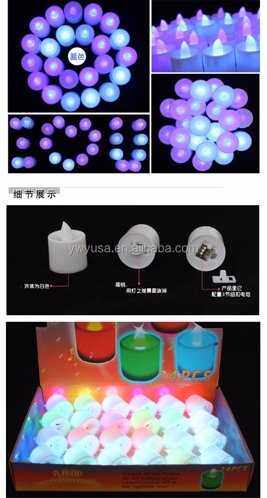 Alibaba hot sell led christmas candles walmart with holder