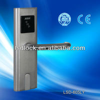 digital hotel reader electric sliding lock