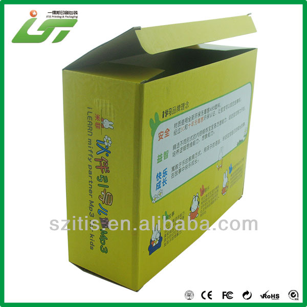 High quality China wholesale paper packaging box for led lamp