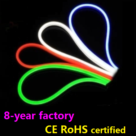 Factory wholesale CE RoHS certified waterproof soft pvc SMD mini neon flex led rope light wholesale 8*20mm 10*22mm