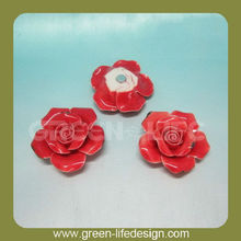 Home decoration miniature ceramic flowers