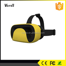 Factory wholesale price virtual reality with remote controller 3d vr glasses