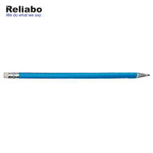 Reliabo Promotional Bulk Items Fashion Thin Paper Reusable Pencil With Eraser Top