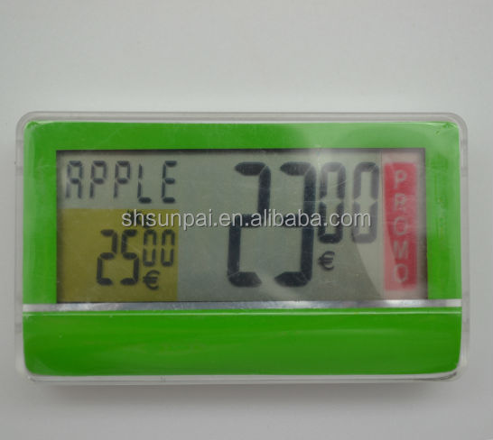 New arrival wireless digital price tags with LCD display
