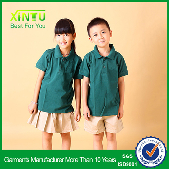 Summer wear preschool school uniform