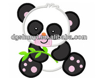 Popular items for panda applique