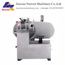 High speed electric meat mincer/ semi automatic meat slicer/frozen meat slicer with s/s blade