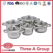 kitchen accessories double sided pan cookware sets Portable kitchenware set