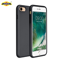 For iphone 8 case, full body liquid silicone case with microfiber inlay rubber gel case for iphone 7