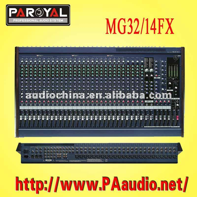 MG32/14FX Console Mixer