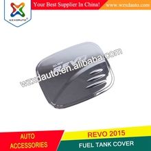 ABS Chrome For Toyota Hilux REVO 2015 2016 Gas Tank Cover Oil Fuel Tank Cover Trim Car Exterior Accessories