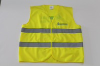 EN1150 reflective safety vest with high visibility