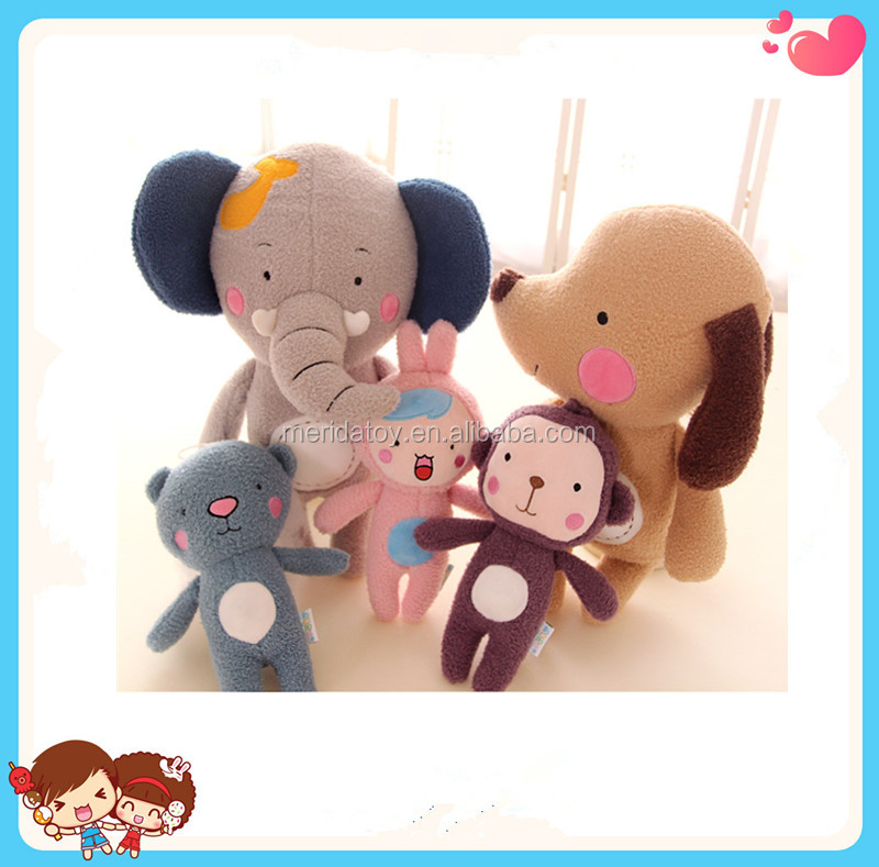 Custom High Quality Plush Stuffed Different Types Of Animal Soft Toys