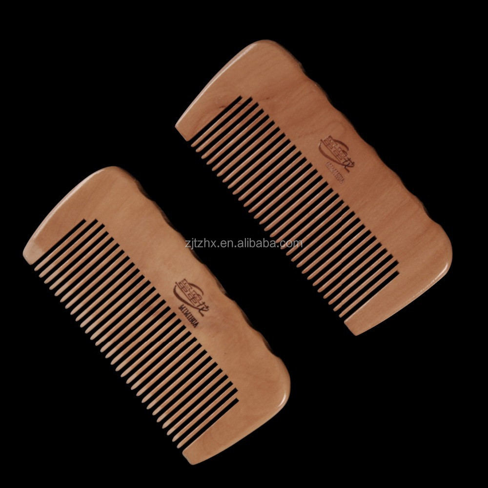 Wholesale Moustache and Beard Wood Comb