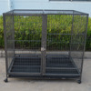 Double Layer Heavy Duty Metal Open Top Dog Cage