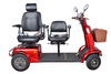 2015 New Two Seats Mobility Scooter