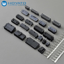 double rows atx/molex/jst 3mm male female power connector 2 4 6 8 10 12 14 16 18 20 22 24 pin/circuit, with flat ribbon cable