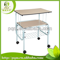 Senior Three Layer colorful TV Trolley