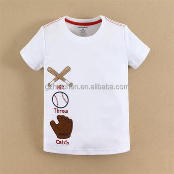 mom and bab 2015 baby clothes 100 combed cotton white t shirts