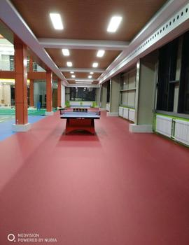 Super wear resistance muti-purpose pvc sports floor covering