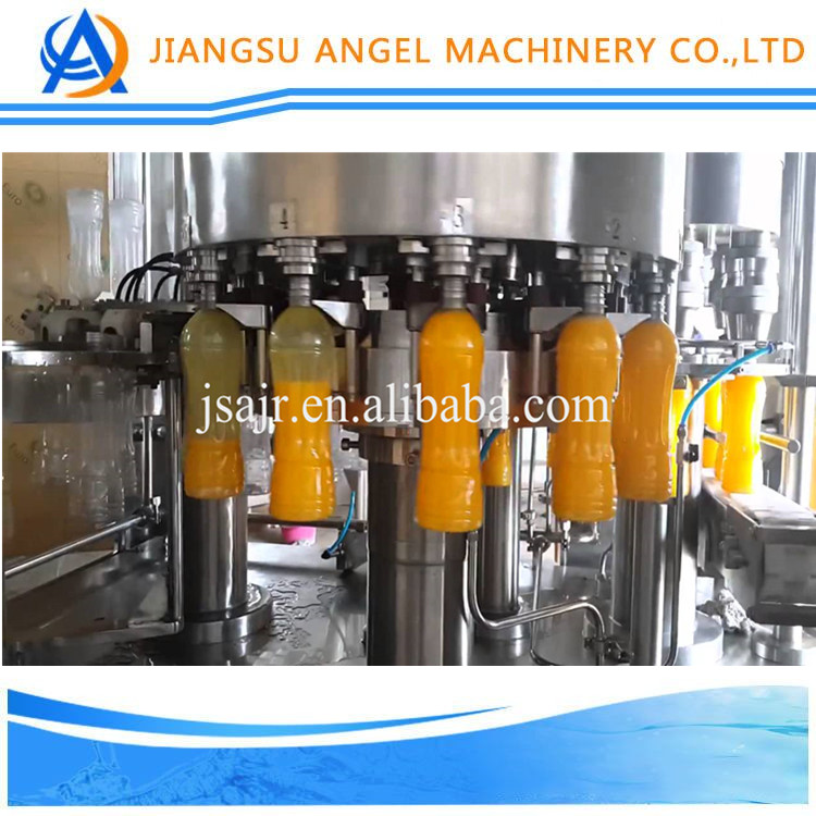 High quality fruit juice/tea/coconut milk PET bottle filling machine made in China with good price