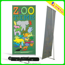 vinyl flex roll up banner poster stand