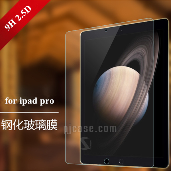 Anti-oil high clear 9H Japanese asahi high quality tempered glass screen protector for ipad pro 12.9""