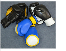 Boxing Gloves of Artificial Leather in Adidas Model