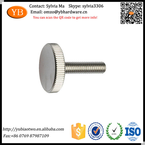 Dongguan High Quality Eco-friendly Custom Knurled Nut and <strong>Screw</strong>