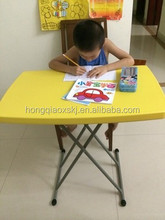 kids plastic desk and chair set, portable folding table and chair set, ergonomic kids plastic study table HQ-SJ32