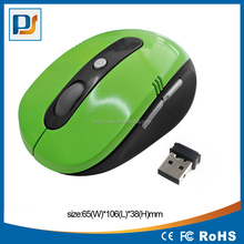 Wireless 6D Optical Mouse dpi adjustable with page forward and back