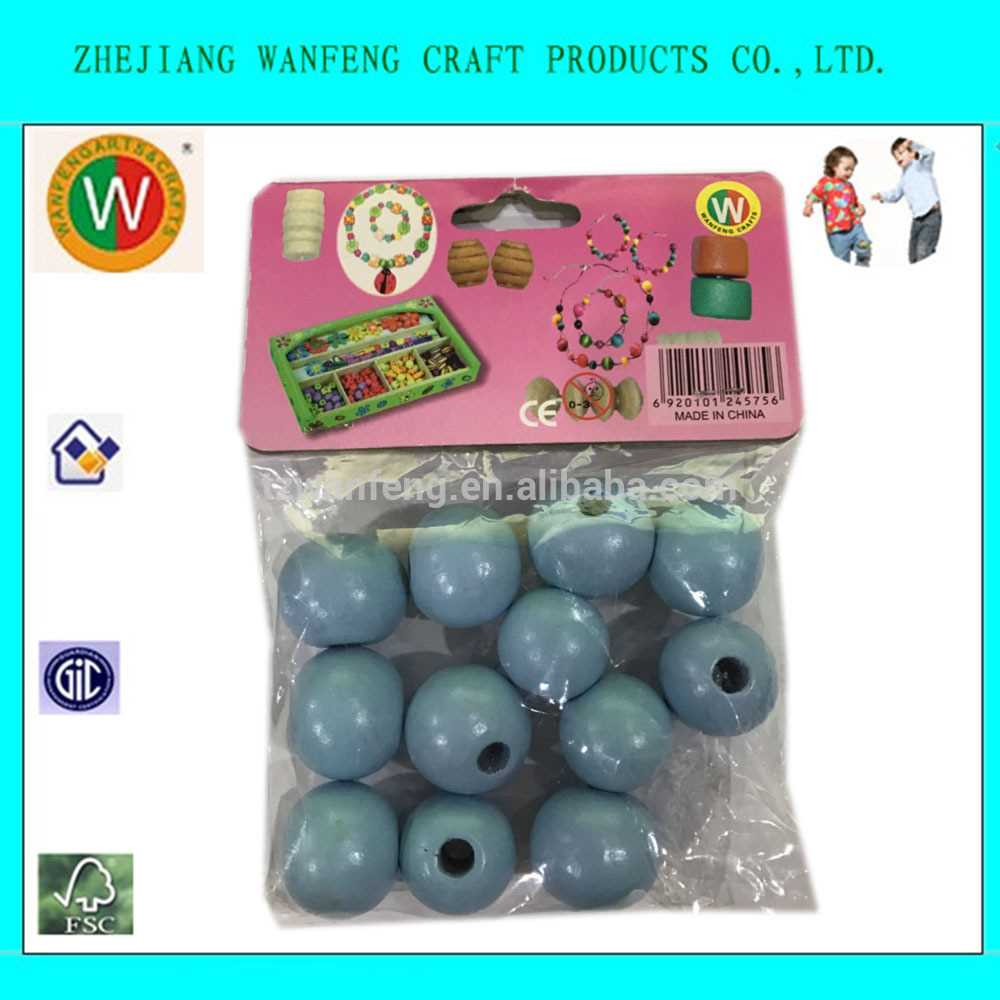 Wanfeng High Quality Wood Beads Large round wooden beads wooden japanese handicraft