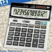 Voice activated ct-912 check & correct calculator with 12 digit