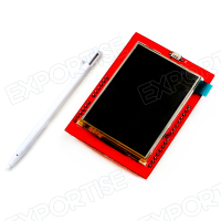"2.4"" TFT LCD Shield Touch Panel Module TF Micro SD For Arduino UNO R3 M51"