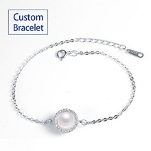 custom logo jewelry bulk custom bracelet