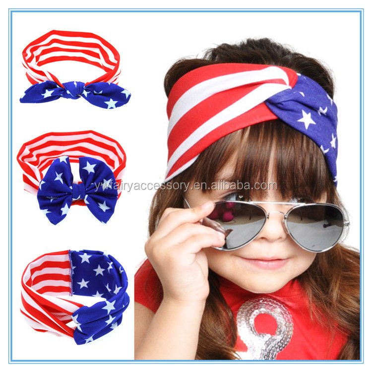 2016 New arrival fashion festival decoration headband 4th of july headband