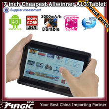2014 Best-selling unbranded tablet pc in a lowest price