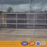 Sample free Decoration garden fence galvanized farm fence gate