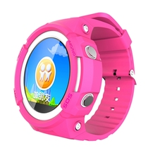 Kids Gps Tracking Watch with SOS SIM Voice Message WeChat MP3 Player Music Step Counter
