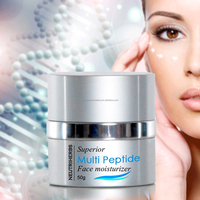 Superior Multi Peptide anti wrinkle natural face beauty cream snow white for Indian face
